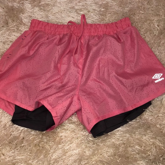 Umbro Pants - Umbro Shorts with compression liner